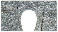 NOCH N Scale Single Track Tunnel Portal Quarrystone Hard Foam # N34937